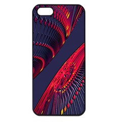 Fractal Fractal Art Digital Art Apple Iphone 5 Seamless Case (black)