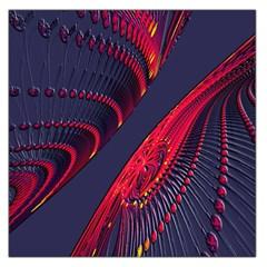 Fractal Fractal Art Digital Art Large Satin Scarf (Square)