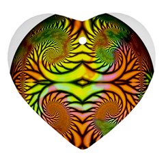 Fractals Ball About Abstract Ornament (Heart)