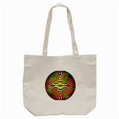Fractals Ball About Abstract Tote Bag (Cream)