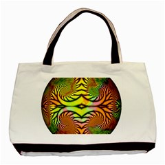 Fractals Ball About Abstract Basic Tote Bag