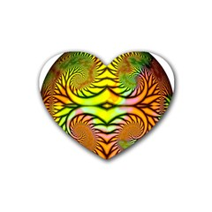 Fractals Ball About Abstract Heart Coaster (4 pack)