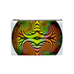 Fractals Ball About Abstract Cosmetic Bag (medium)