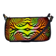 Fractals Ball About Abstract Shoulder Clutch Bags