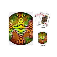 Fractals Ball About Abstract Playing Cards (Mini)