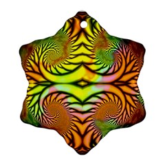 Fractals Ball About Abstract Ornament (Snowflake)