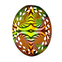 Fractals Ball About Abstract Ornament (oval Filigree)