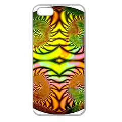 Fractals Ball About Abstract Apple Seamless iPhone 5 Case (Clear)