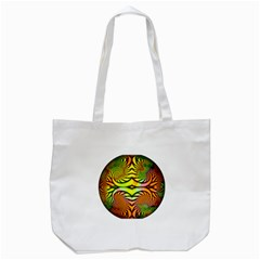 Fractals Ball About Abstract Tote Bag (White)