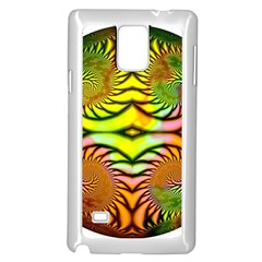 Fractals Ball About Abstract Samsung Galaxy Note 4 Case (white)