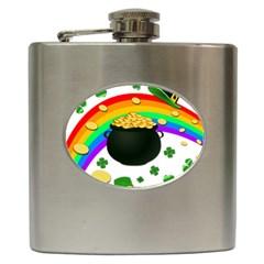 Good luck Hip Flask (6 oz)