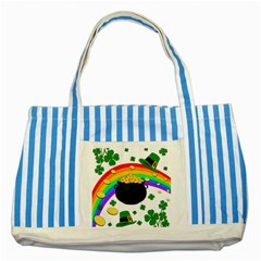 Good luck Striped Blue Tote Bag