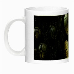 Fractal Sphere Steel 3d Structures Night Luminous Mugs