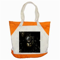 Fractal Sphere Steel 3d Structures Accent Tote Bag