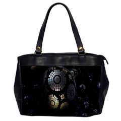 Fractal Sphere Steel 3d Structures Office Handbags