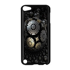 Fractal Sphere Steel 3d Structures Apple Ipod Touch 5 Case (black)