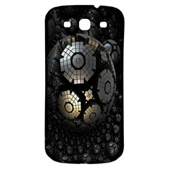 Fractal Sphere Steel 3d Structures Samsung Galaxy S3 S Iii Classic Hardshell Back Case