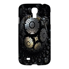Fractal Sphere Steel 3d Structures Samsung Galaxy S4 I9500/i9505 Hardshell Case