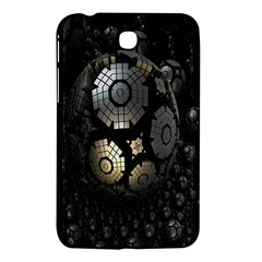 Fractal Sphere Steel 3d Structures Samsung Galaxy Tab 3 (7 ) P3200 Hardshell Case