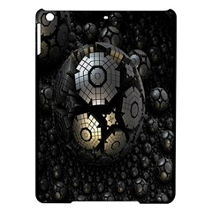 Fractal Sphere Steel 3d Structures Ipad Air Hardshell Cases