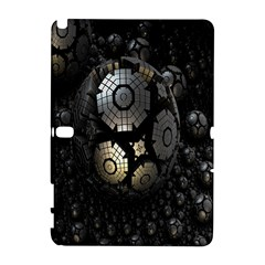 Fractal Sphere Steel 3d Structures Galaxy Note 1