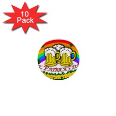 Beer 1  Mini Buttons (10 pack)