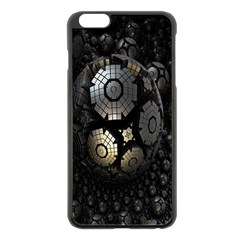 Fractal Sphere Steel 3d Structures Apple Iphone 6 Plus/6s Plus Black Enamel Case