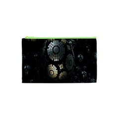 Fractal Sphere Steel 3d Structures Cosmetic Bag (xs)
