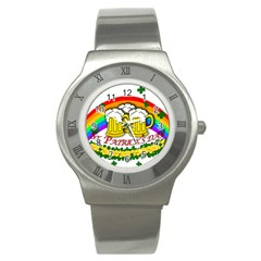 Beer Stainless Steel Watch