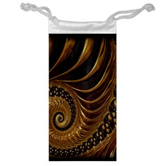 Fractal Spiral Endless Mathematics Jewelry Bag