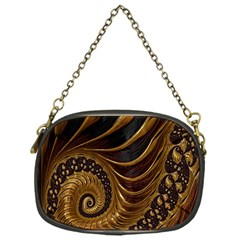 Fractal Spiral Endless Mathematics Chain Purses (One Side)