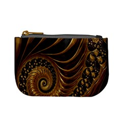 Fractal Spiral Endless Mathematics Mini Coin Purses