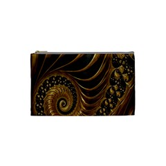 Fractal Spiral Endless Mathematics Cosmetic Bag (Small)