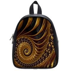 Fractal Spiral Endless Mathematics School Bags (Small)