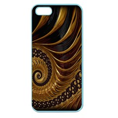 Fractal Spiral Endless Mathematics Apple Seamless iPhone 5 Case (Color)