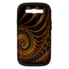 Fractal Spiral Endless Mathematics Samsung Galaxy S Iii Hardshell Case (pc+silicone)