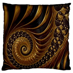 Fractal Spiral Endless Mathematics Standard Flano Cushion Case (one Side)