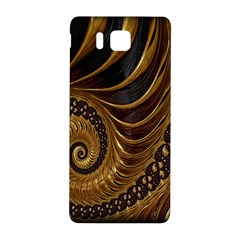 Fractal Spiral Endless Mathematics Samsung Galaxy Alpha Hardshell Back Case