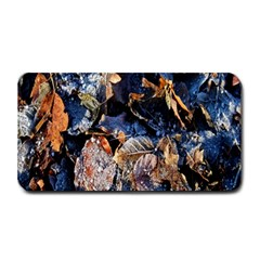 Frost Leaves Winter Park Morning Medium Bar Mats