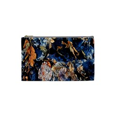 Frost Leaves Winter Park Morning Cosmetic Bag (small)