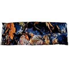 Frost Leaves Winter Park Morning Body Pillow Case Dakimakura (two Sides)