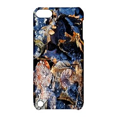Frost Leaves Winter Park Morning Apple Ipod Touch 5 Hardshell Case With Stand