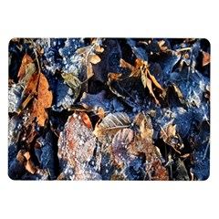 Frost Leaves Winter Park Morning Samsung Galaxy Tab 10 1  P7500 Flip Case