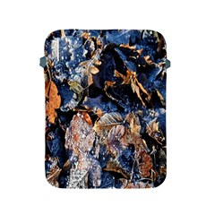 Frost Leaves Winter Park Morning Apple Ipad 2/3/4 Protective Soft Cases