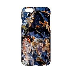 Frost Leaves Winter Park Morning Apple Iphone 6/6s Hardshell Case
