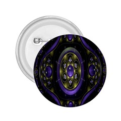 Fractal Sparkling Purple Abstract 2.25  Buttons