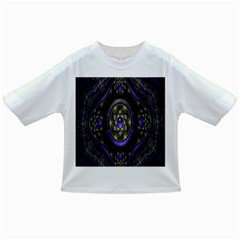 Fractal Sparkling Purple Abstract Infant/Toddler T-Shirts