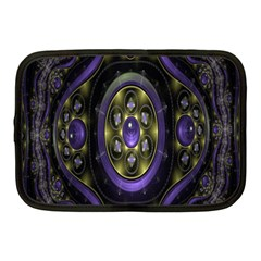 Fractal Sparkling Purple Abstract Netbook Case (Medium)