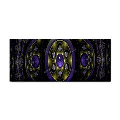 Fractal Sparkling Purple Abstract Cosmetic Storage Cases