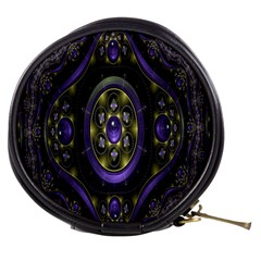 Fractal Sparkling Purple Abstract Mini Makeup Bags